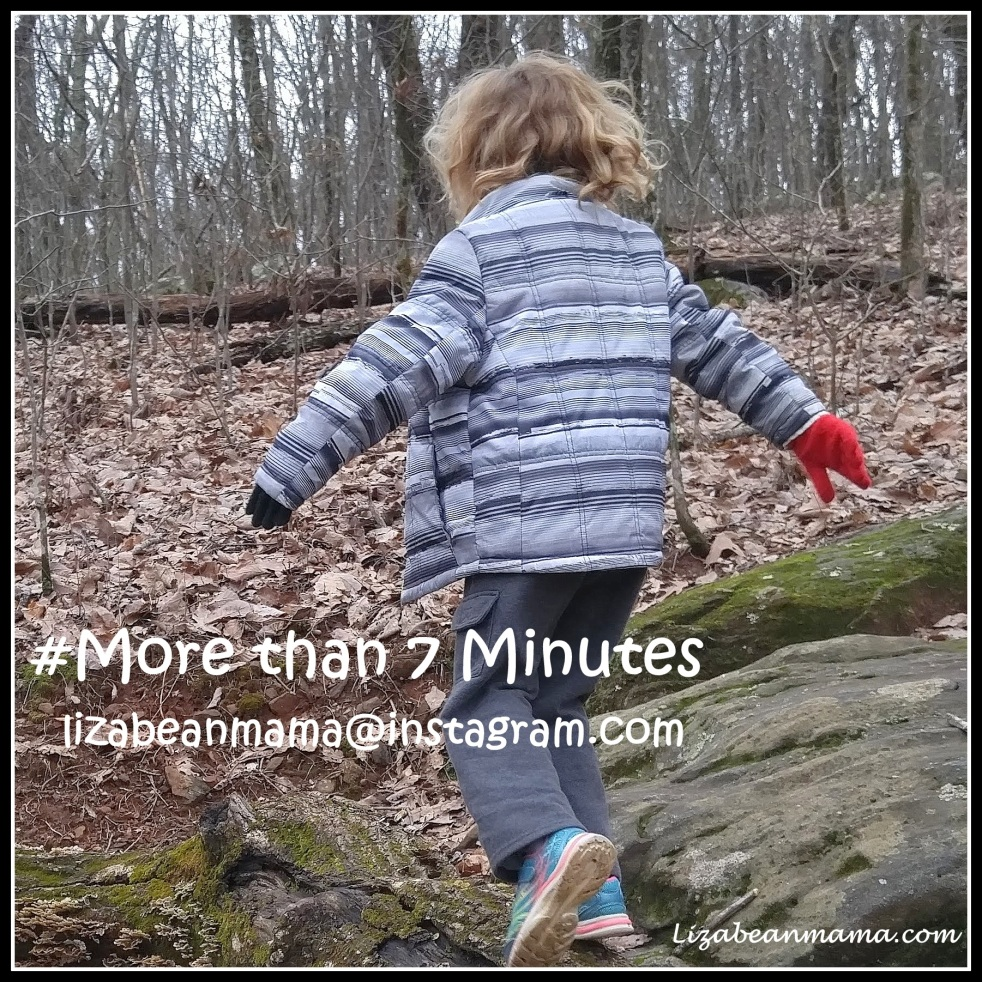 Every child should play outside more than 7 minutes per day